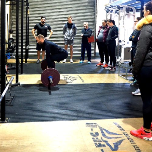 Squat and Deadlift Workshop at FFTAcademy